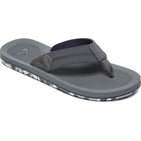 Quiksilver Coastaloasis III Sandals Men grey/grey/blue